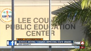 Schools moving towards improving state grades