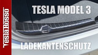 Tesla Model 3 Ladekantenschutz Montage DIY - Frunk & Kofferraum (Trunk)