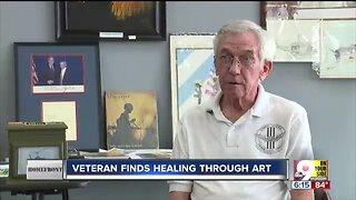 Vietnam veteran finds healing through creating art