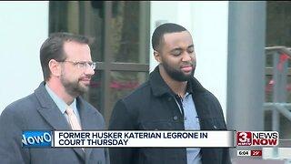 Former Husker in Court Thursday