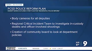 PCSD Sheriff Nanos discusses plan for 'meaningful police reform'