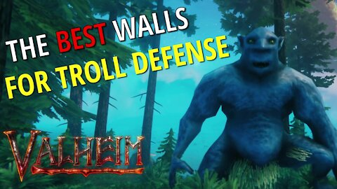 Defending Against Trolls (Base Defense) - Valheim
