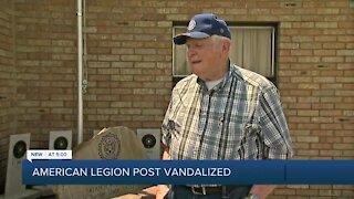 American Legion Post Vandalized