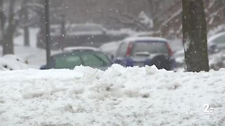 Snow impact in Harford County