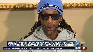 Frederick Douglass High School staffer blames principal for shooting
