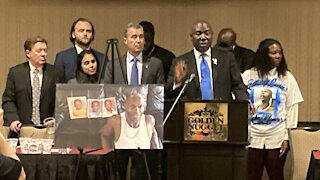 Civil rights attorney Ben Crump involved in Byron Williams lawsuit against Las Vegas police