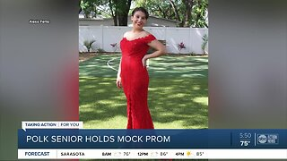 Plant High School senior finds a way to celebrate prom during COVID-19