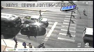 Serious crash Jones & Charleston boulevards