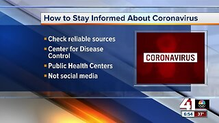 How to stay informed and prepared for coronavirus
