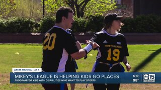 Mikey's League challenges the limits placed on children with disabilities