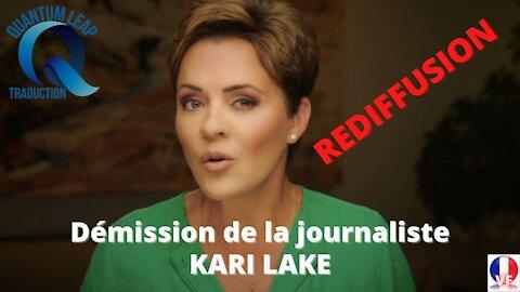 """DÉMISSION DE KARI LAKE DE FOX 10 : """" LE JOURNALISME A BIEN CHANGÉ"""""""