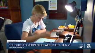 Palm Beach County parents confused, concerned about return to brick-and-mortar schools