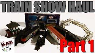 Model Train Show Haul Part 1