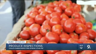Produce shippers fear inspectors could spread COVID