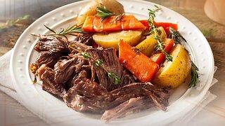 What's for Dinner? - Easy Slow Cooker Pot Roast