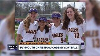 WXYZ Senior Salute: Plymouth Christian Academy softball