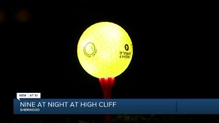 Nine at Night charity glow golf outing