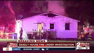 Deadly house fire in north Tulsa