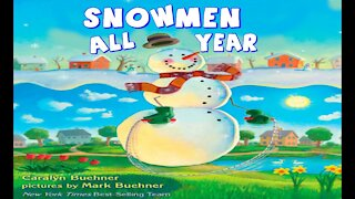 Snowmen All Year   Read Aloud   Simply Storytime