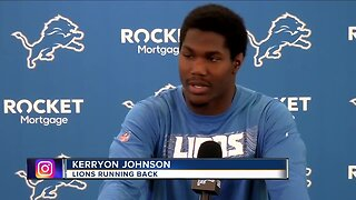 Kerryon Johnson eager for second season with Lions