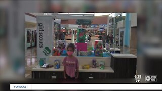Local Girl Scout sold over 2,000 boxes of cookies