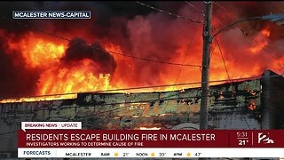 Residents Escape Building Fire In McAlester