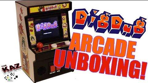 Dig Dug Arcade Classics Unboxing