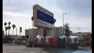 Temporary homeless shelter opens in Las Vegas