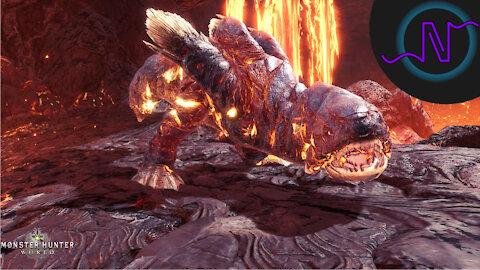 Lavasioth - High Rank Monster Showcase - Monster Hunter World