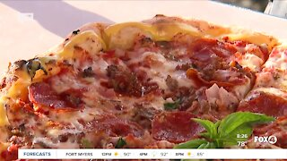 SWFL food truck shows off meat lovers pizza