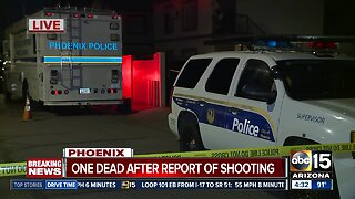 One believed dead after shooting near 27th Avenue and Roosevelt Street