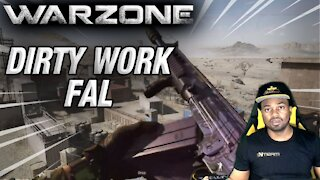 WARZONE 1 AGAINST 4 | FAL DIRTY WORK