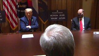 President Trump praises Colorado's COVID-19 response as Gov. Polis, CDPHE head visit White House