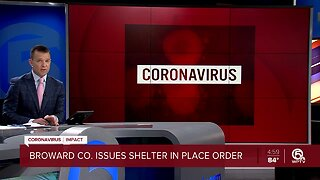 Broward County issues shelter-in-place order due to coronavirus