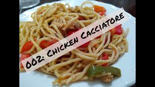 002: Chicken Cacciatore