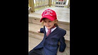 Biggest Little Trump supporter