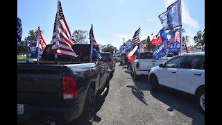Trump Support Rally Lumberton Texas November 2020