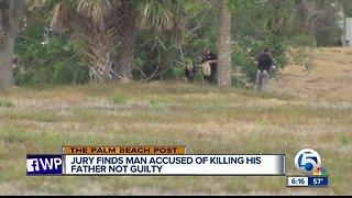 Man guilty of dismembering father, not murder