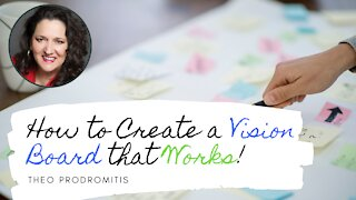 CREATE YOUR VISION BOARD- from a successful Founder/CEO
