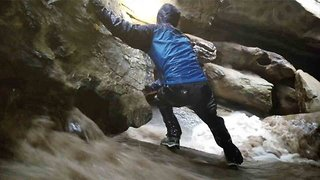 Surprise Flash Flood Engulfs Hikers In Isolated Hidden Cave