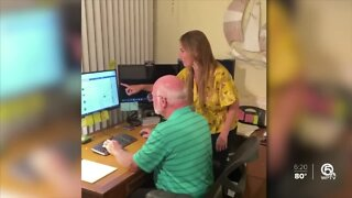Palm Beach County company connects seniors to the outside world during pandemic