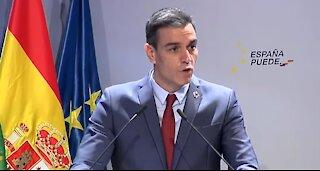 CUARTO DÍA DE PROTESTAS. El presidente español Pedro Sánchez justifica represión a manifestantes