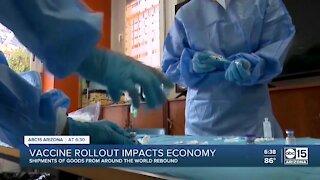 Vaccine rollout impacts economy