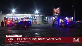 Man shot, seriously hurt in south Phoenix Saturday