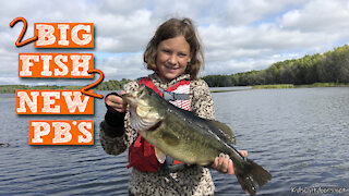 S1:E20 Kids get New PB Northern Pike and Bass! | Public Lake Fishing with Kids Outdoors