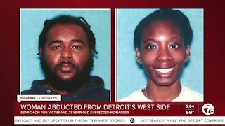Police searching for armed & dangerous man who allegedly abducted woman on Detroit's west side