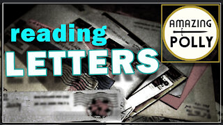 Reading Your Letters - May 2021
