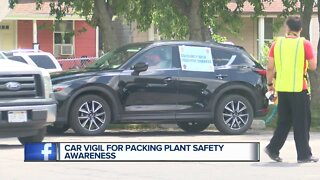 Car Vigil for Packing Plant Safety Awareness
