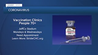 Jeffco Public Health says senior vaccines being handled by Stride