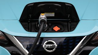 Colorado Gov. Jared Polis promotes electric, zero-emission vehicles